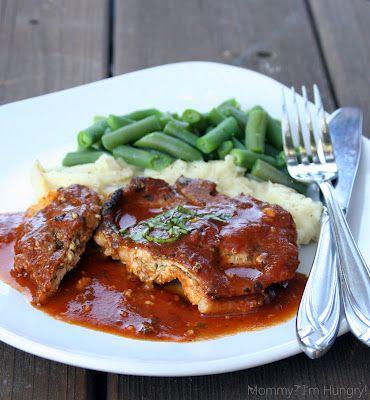 MIH Recipe Blog: Gluten Free Pesto & cheese stuffed pork chops