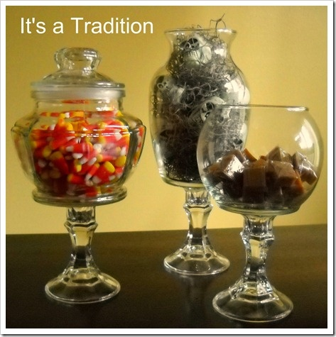how to make apothecary jars - Halloween