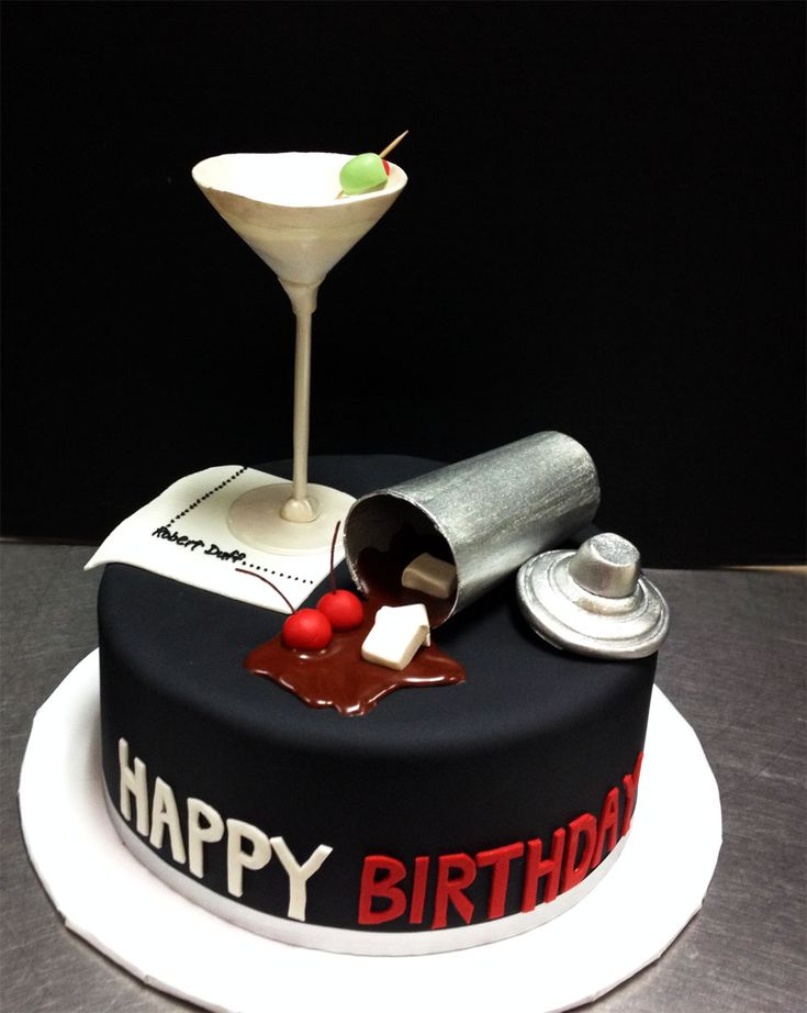 Mad Men Cake Boys Men S Birthday Cakes Pinterest