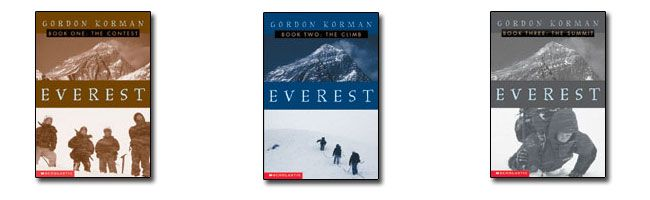 Book report on everest by gordon korman