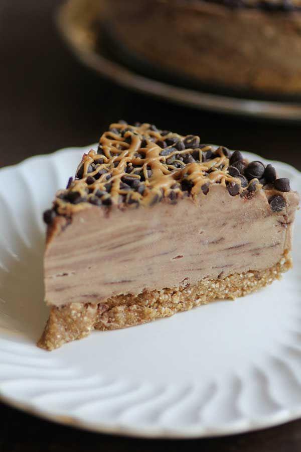 Chocolate Peanut Butter Swirl Icebox Cake (and it's vegan!)