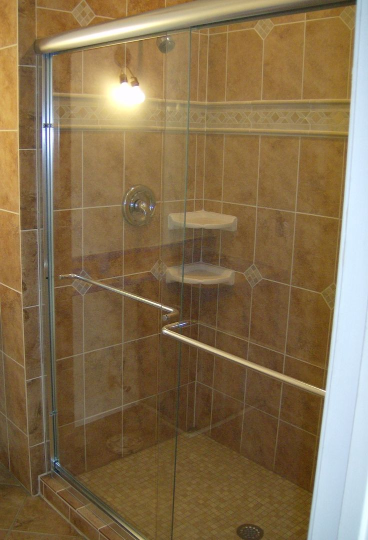 Pin by janet benner on for the home pinterest for Master bathroom glass doors