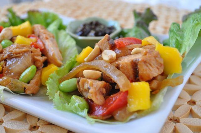 Chicken Stir-Fry Lettuce Wraps   Recipes: Healthy Dinner   Pinterest
