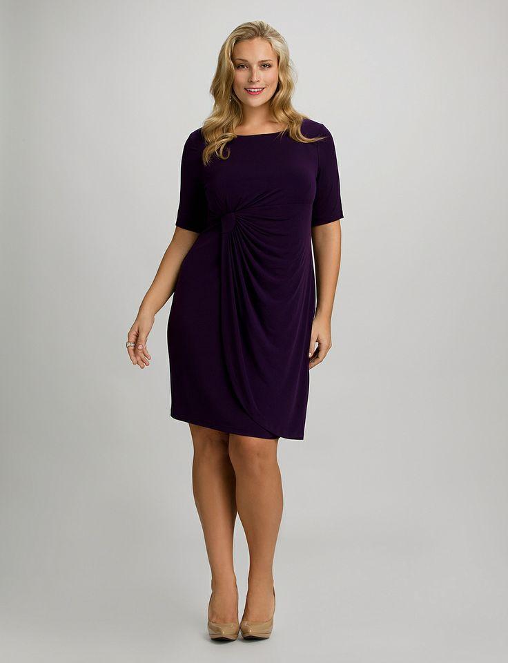 eliza j plus length dresses