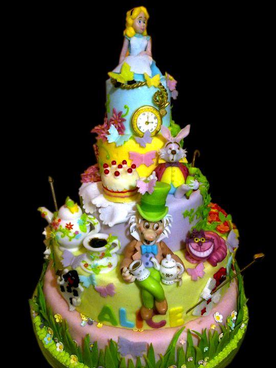 Torte con Personaggi delle Fiabe Decorate a Mano: Le Torte ...