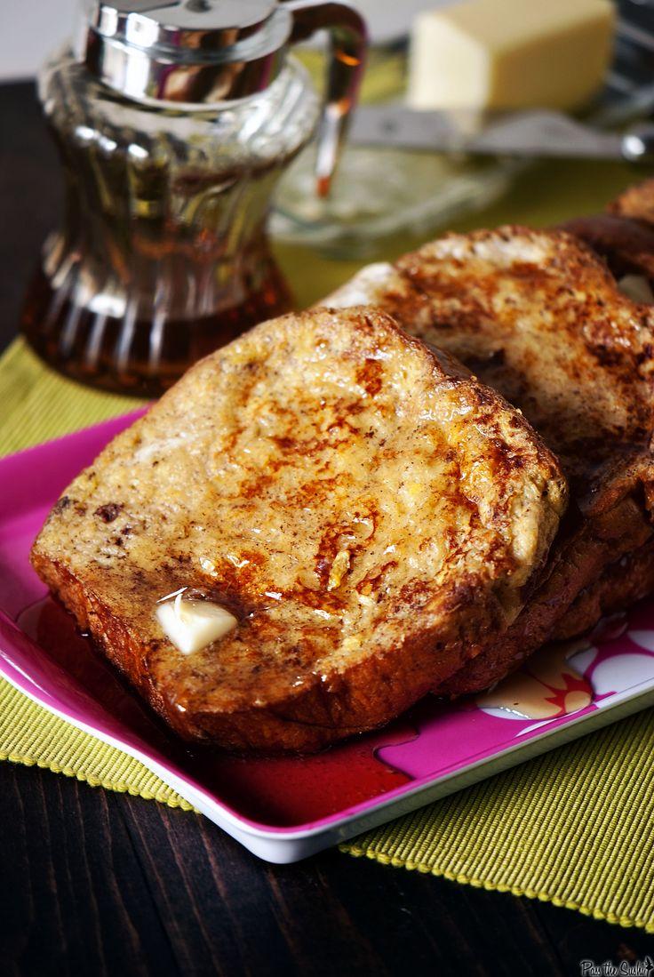 challah french toast | FrenchToasts & Waffles | Pinterest