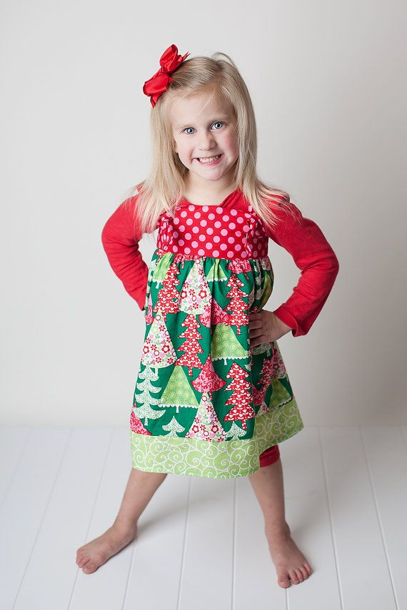 Knot dress in christmas holiday by gurleygirlboutique on etsy 32 50