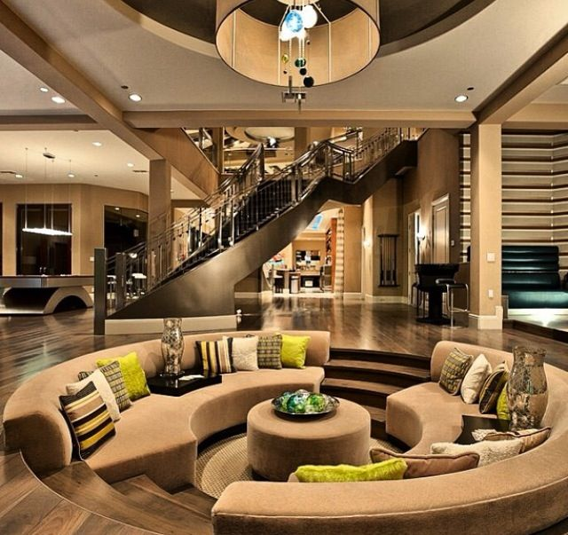 awesome living rooms modern house