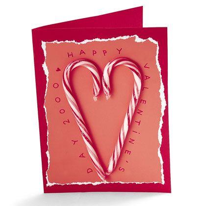 DIY Candy Cane Card- cute!