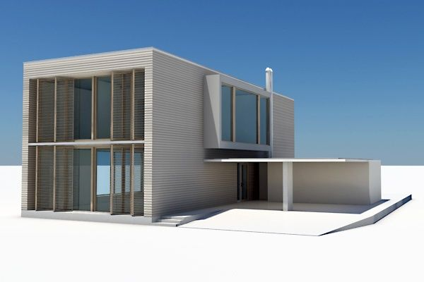 Modern House 04 Architecture 3D Models | Condo Dollhouse Ideas | Pin ...: pinterest.com/pin/551057704376733152