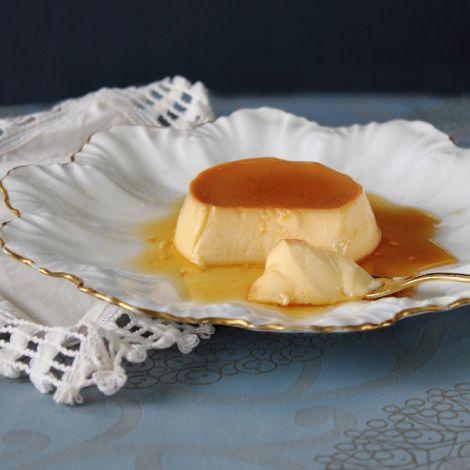 Classic Creme Caramel - reminds me of my grandmother's custard