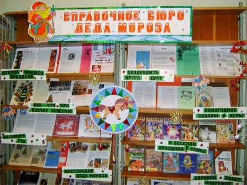 Новогодние сценарии в библиотеке для детей