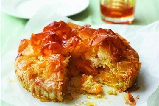 Apricot, honey and pistachio tart recipe | 53 Amazing Pistachio ...