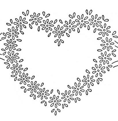 free heart embroidery pattern