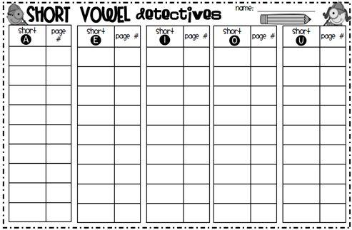 Lots of great short vowel activities and 1st grade stuff!