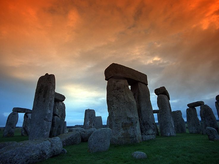 Stone Henge...how did it get there?