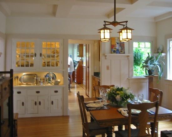 Craftsman Style Dinning Room Dining Room Pinterest