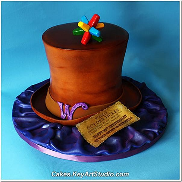 Golden Ticket Ideas For Cakes