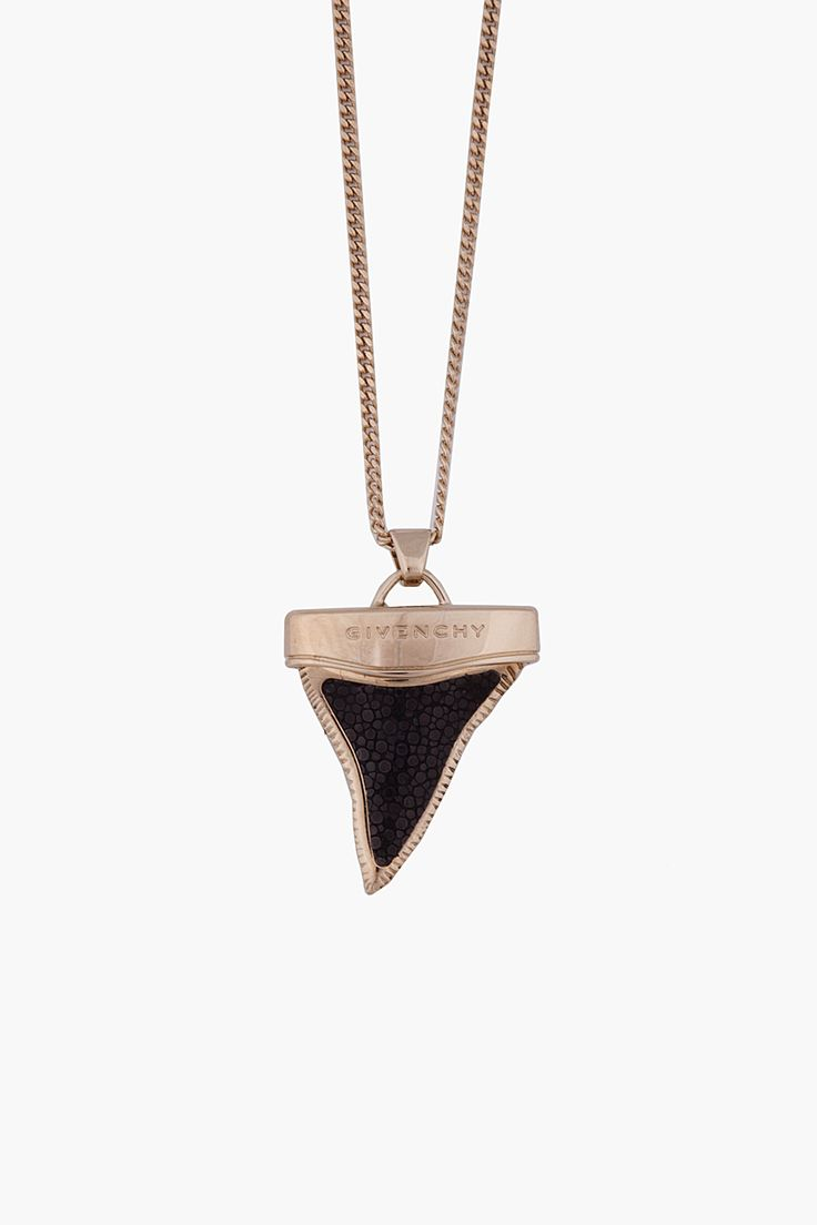 givenchy small shark tooth necklace sparkly things