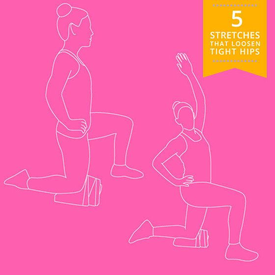 releasing hip flexor muscle tissue