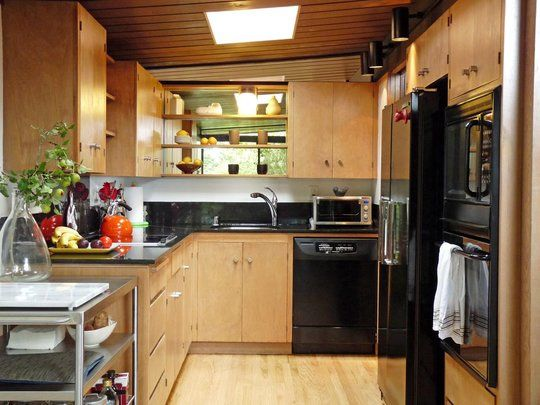 Cute but well planned kitchen