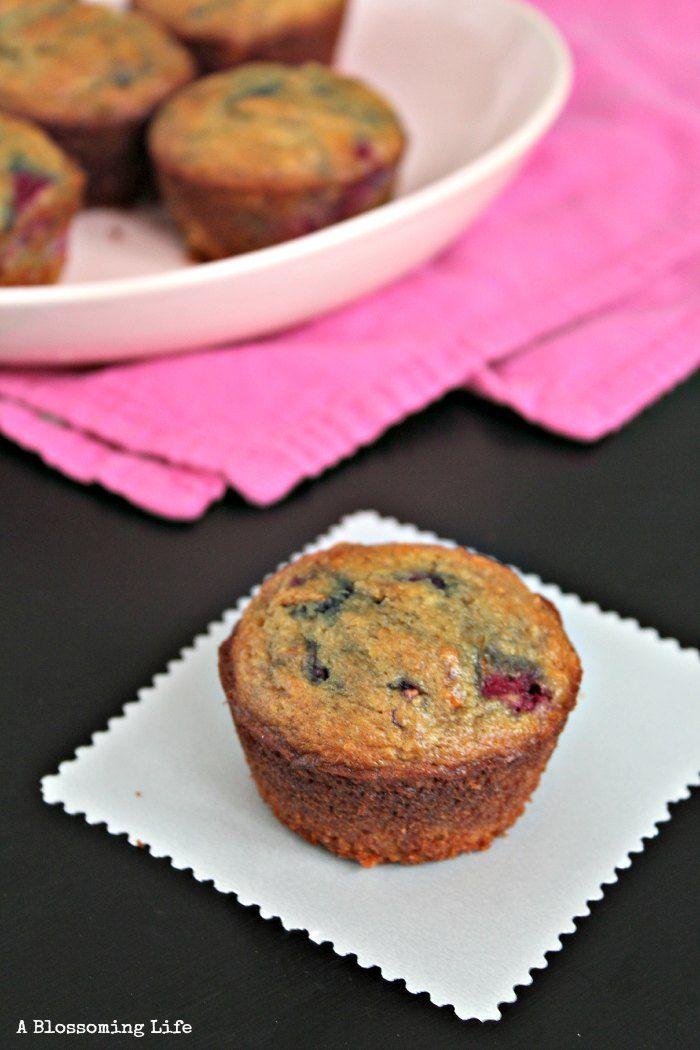 Delicious Orange Raspberry Muffins {Paleo, grain free, dairy free}