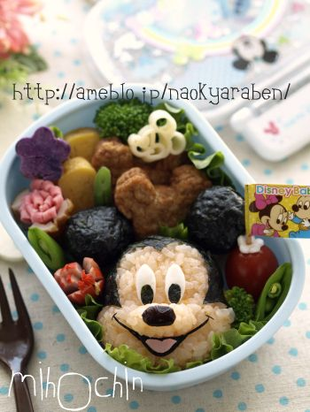 Another Mickey Mouse Bento | Food Art & Bento | Pinterest