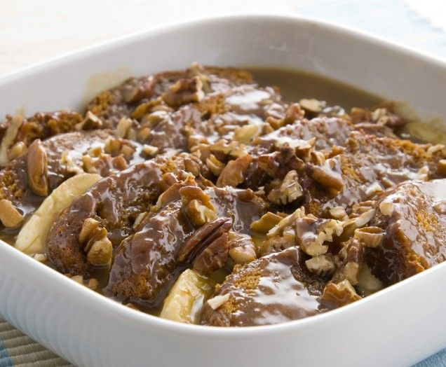 Quick Sticky Toffee and Banana Pudding | Desserts | Pinterest