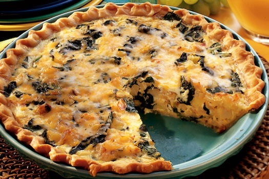 easy quiche recipe | Recipies For Meals | Pinterest