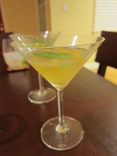 Gin cocktail by The Minty | Did someone say cocktails? | Pinterest