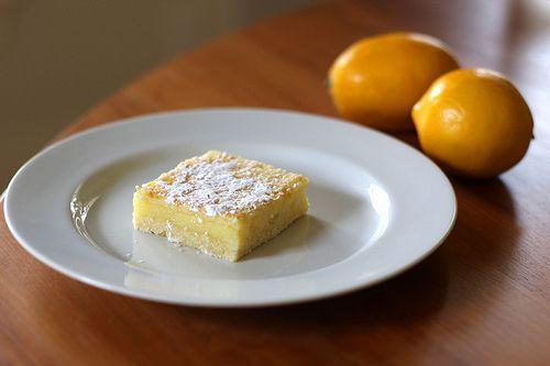 Lemon Shortbread Bars   Recipes   Pinterest