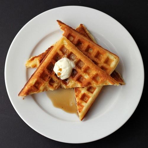 Sour cream & brown sugar waffles | Breakfast | Pinterest