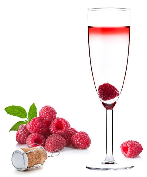 raspberry champagne cocktail. http://m.dailyscocktails.com/recipes ...