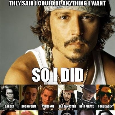 He can be anything but ugly. | Johnny Depp! | Pinterest Johnny Depp
