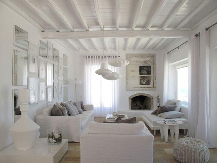 all white living room sunroom pinterest