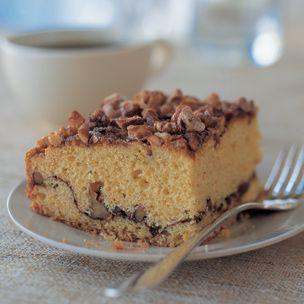 Easy Cinnamon-Walnut Coffee Cake | Cakes | Pinterest