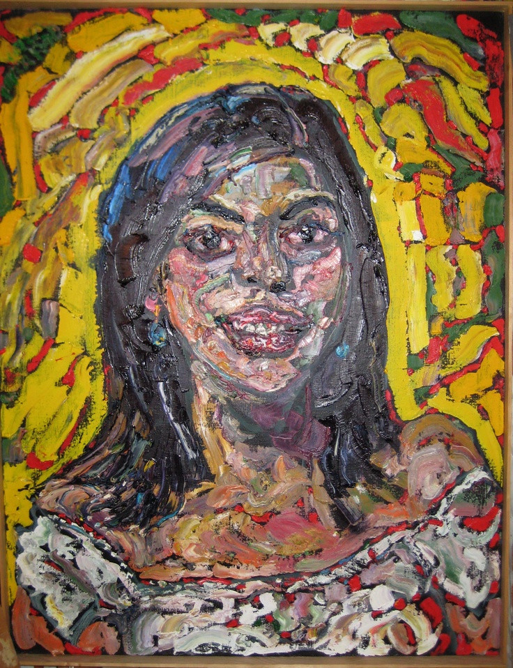 """ALEJANDRA*/-..IN*HER/-..*MEXICAN*WHITE(!)?-..-OFF*Tha'*SHOULDER(!)?..-*PULL*DOWN(!)""?  MED:  OIL/-CANVAS   SIZE:  48""  X  35""   DATE:  2002  artist's©copyright"