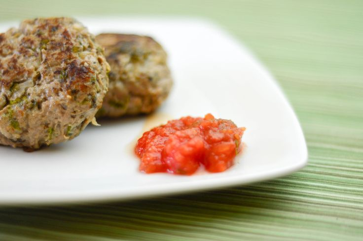 Lamb burgers with homemade tomato ketchup... from the FREE Diabetes.co ...