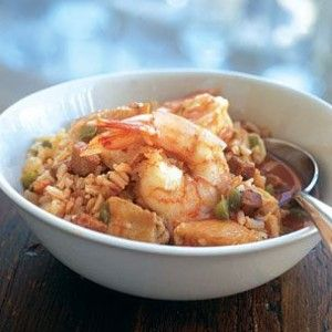 Jambalaya with Shrimp, Chicken and Ham   Food   Pinterest