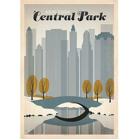 American Flat N Y Central Park