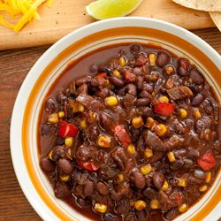 Pressure cooker vegan black bean chili | Vegan :) | Pinterest