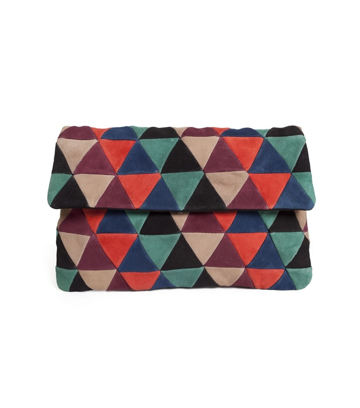 patchwork clutch - gorman.