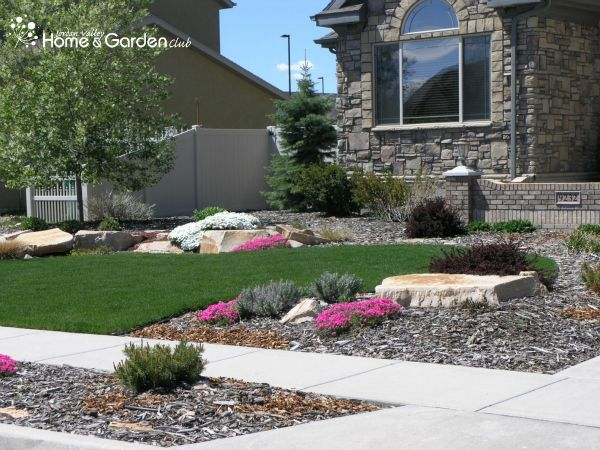 Landscaping Ideas For Front Yard Of Semi Detached : Landscaping front yard ideas utah