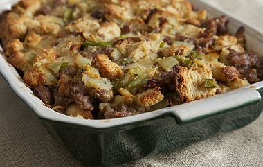 ... Pecan-Cherry Stuffing and Wild Rice Stuffing with Pearl Onions and