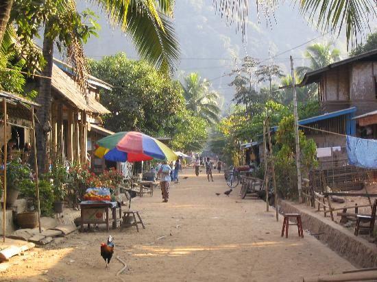 Muang Ngoi Neua là một vùng đồng quê yên bình