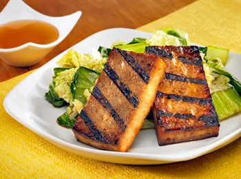 Grilled Tofu and Sautéed Asian Greens | Cooking Some Vegetarian | Pin ...