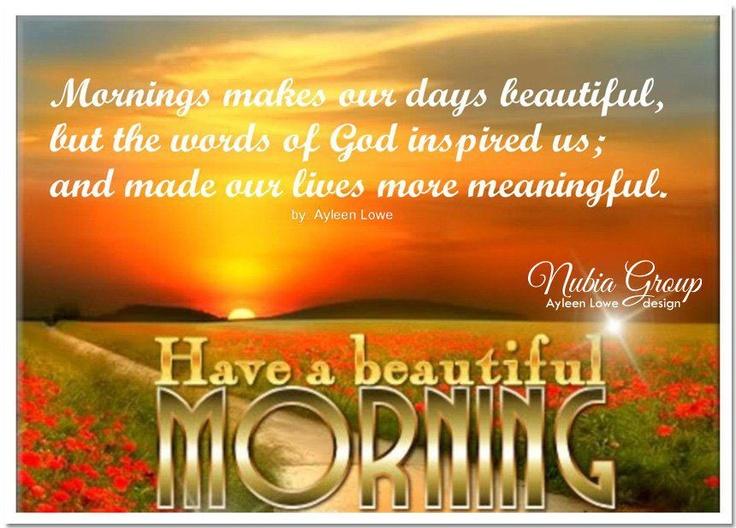 Good Morning Sunday Spiritual Quotes : Sunday morning christian quotes quotesgram