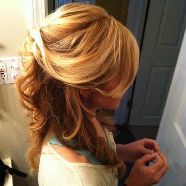 Wedding hair trial right side | Wuv, Twu Wuv | Pinterest