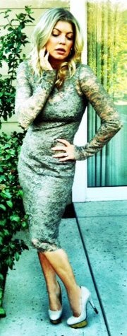 Fergie... what a vixen!    #fergie  #blackeyedpeas  #sexy