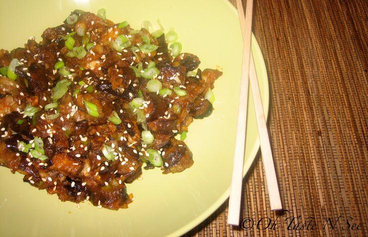 Sichuan Eggplant stir fry | Veggie dinners | Pinterest